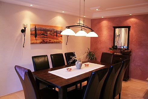 Esszimmer farbgestaltung  Gestaltung Essecke ~ Kreative Bilder für zu Hause Design-Inspiration